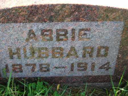 HUBBARD, ABBIE - Codington County, South Dakota | ABBIE HUBBARD - South Dakota Gravestone Photos