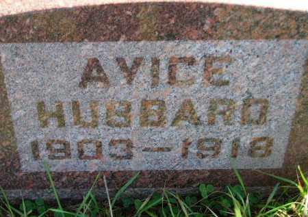 HUBBARD, AVICE - Codington County, South Dakota | AVICE HUBBARD - South Dakota Gravestone Photos