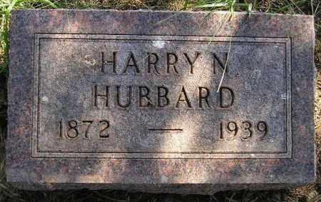 HUBBARD, HARRY N. - Codington County, South Dakota   HARRY N. HUBBARD - South Dakota Gravestone Photos