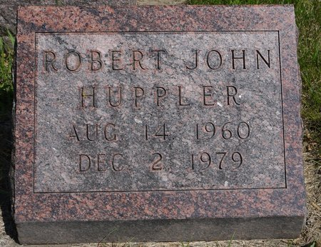 HUPPLER, ROBERT JOHN - Codington County, South Dakota | ROBERT JOHN HUPPLER - South Dakota Gravestone Photos