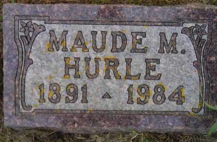 HURLE, MAUDE M. - Codington County, South Dakota | MAUDE M. HURLE - South Dakota Gravestone Photos