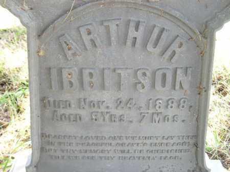 IBBITSON, ARTHUR - Codington County, South Dakota | ARTHUR IBBITSON - South Dakota Gravestone Photos