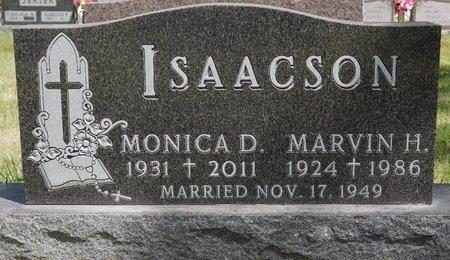 ISAACSON, MARVIN H. - Codington County, South Dakota   MARVIN H. ISAACSON - South Dakota Gravestone Photos
