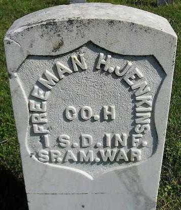 JENKINS, FREEMAN H. - Codington County, South Dakota   FREEMAN H. JENKINS - South Dakota Gravestone Photos