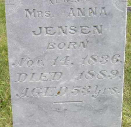 JENSEN, ANNA - Codington County, South Dakota   ANNA JENSEN - South Dakota Gravestone Photos