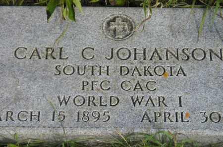 JOHANSON, CARL C. - Codington County, South Dakota | CARL C. JOHANSON - South Dakota Gravestone Photos