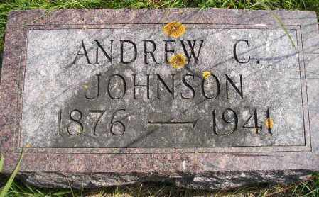 JOHNSON, ANDREW C. - Codington County, South Dakota | ANDREW C. JOHNSON - South Dakota Gravestone Photos