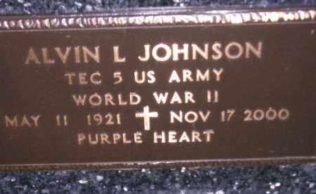 JOHNSON, ALVIN L. (WW II) - Codington County, South Dakota   ALVIN L. (WW II) JOHNSON - South Dakota Gravestone Photos