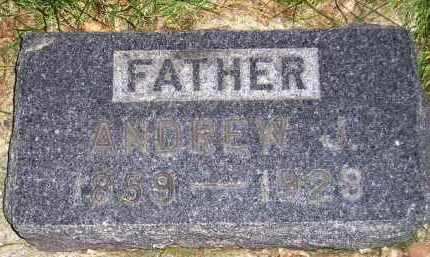 JOHNSON, ANDREW J. - Codington County, South Dakota | ANDREW J. JOHNSON - South Dakota Gravestone Photos
