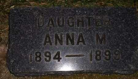 JOHNSON, ANNA M. - Codington County, South Dakota   ANNA M. JOHNSON - South Dakota Gravestone Photos