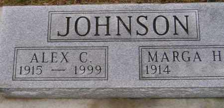 JOHNSON, MARGA H. - Codington County, South Dakota | MARGA H. JOHNSON - South Dakota Gravestone Photos