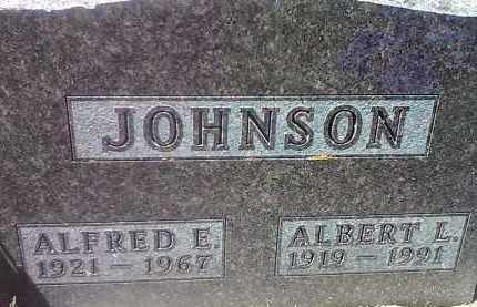 JOHNSON, ALBERT L - Codington County, South Dakota | ALBERT L JOHNSON - South Dakota Gravestone Photos