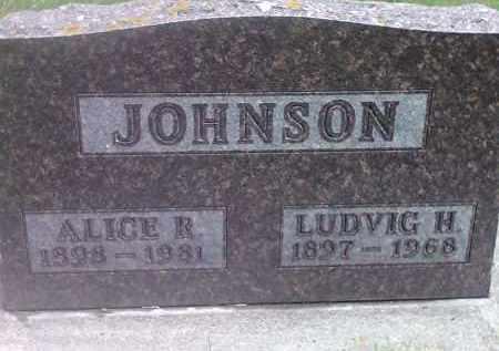 JOHNSON, ALICE R - Codington County, South Dakota | ALICE R JOHNSON - South Dakota Gravestone Photos