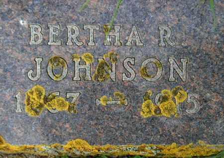 JOHNSON, BERTHA RANDINA - Codington County, South Dakota   BERTHA RANDINA JOHNSON - South Dakota Gravestone Photos