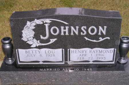JOHNSON, BETTY LOU - Codington County, South Dakota | BETTY LOU JOHNSON - South Dakota Gravestone Photos
