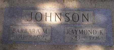 JOHNSON, BARBARA M. - Codington County, South Dakota | BARBARA M. JOHNSON - South Dakota Gravestone Photos