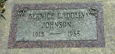 "JOHNSON, BERNICE L ""DOLEY"" - Codington County, South Dakota 