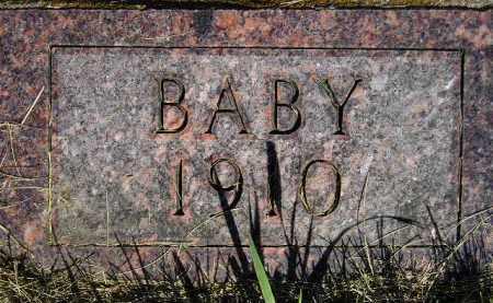 JOHNSON, BABY 1910 - Codington County, South Dakota | BABY 1910 JOHNSON - South Dakota Gravestone Photos