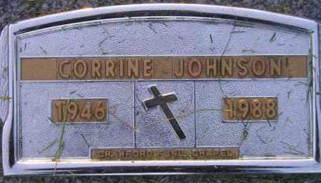 JOHNSON, CORRINE - Codington County, South Dakota   CORRINE JOHNSON - South Dakota Gravestone Photos