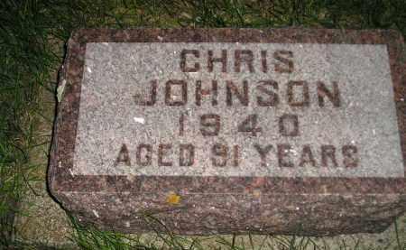 JOHNSON, CHRIS - Codington County, South Dakota | CHRIS JOHNSON - South Dakota Gravestone Photos