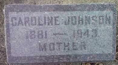 JOHNSON, CAROLINE - Codington County, South Dakota | CAROLINE JOHNSON - South Dakota Gravestone Photos