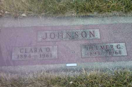 JOHNSON, CLARA O - Codington County, South Dakota | CLARA O JOHNSON - South Dakota Gravestone Photos