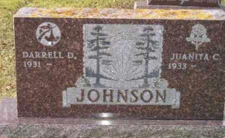 JOHNSON, DARRELL D. - Codington County, South Dakota | DARRELL D. JOHNSON - South Dakota Gravestone Photos