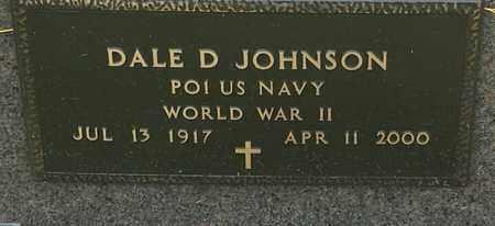 "JOHNSON, DALE D ""MILITARY"" - Codington County, South Dakota | DALE D ""MILITARY"" JOHNSON - South Dakota Gravestone Photos"