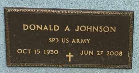 "JOHNSON, DONALD A ""MILITARY"" - Codington County, South Dakota 