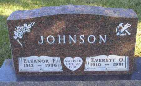 JOHNSON, ELEANOR F. - Codington County, South Dakota | ELEANOR F. JOHNSON - South Dakota Gravestone Photos