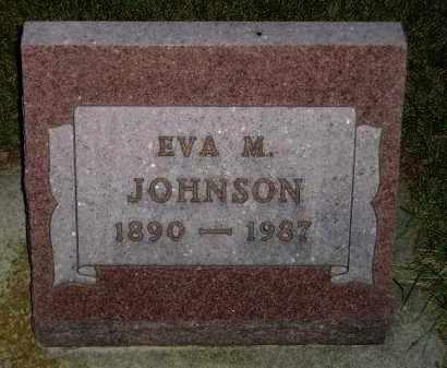 JOHNSON, EVA M. - Codington County, South Dakota | EVA M. JOHNSON - South Dakota Gravestone Photos