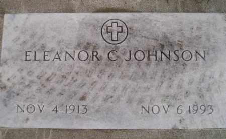 JOHNSON, ELEANOR C. - Codington County, South Dakota   ELEANOR C. JOHNSON - South Dakota Gravestone Photos