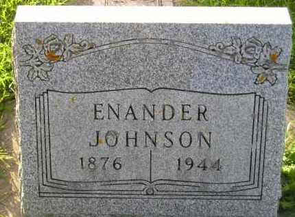 JOHNSON, ENANDER - Codington County, South Dakota | ENANDER JOHNSON - South Dakota Gravestone Photos