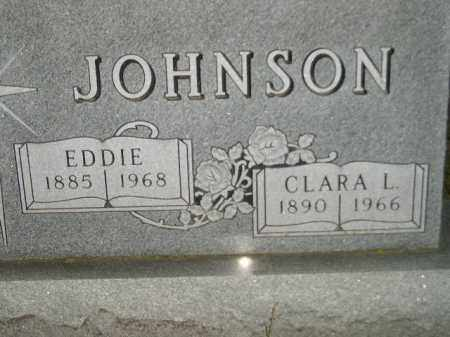 JOHNSON, EDDIE - Codington County, South Dakota | EDDIE JOHNSON - South Dakota Gravestone Photos