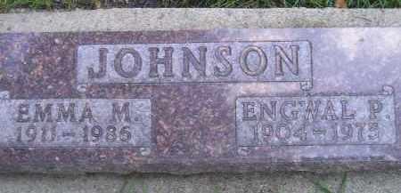 JOHNSON, EMMA M. - Codington County, South Dakota   EMMA M. JOHNSON - South Dakota Gravestone Photos