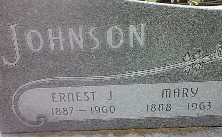 JOHNSON, ERNEST J - Codington County, South Dakota | ERNEST J JOHNSON - South Dakota Gravestone Photos