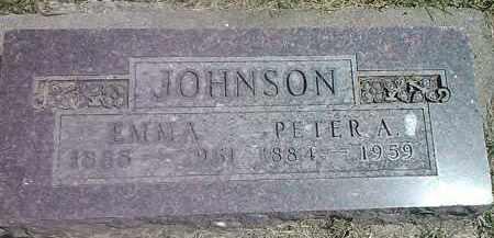 JOHNSON, PETER A - Codington County, South Dakota | PETER A JOHNSON - South Dakota Gravestone Photos