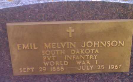 JOHNSON, EMIL MELVIN (MILITARY) - Codington County, South Dakota | EMIL MELVIN (MILITARY) JOHNSON - South Dakota Gravestone Photos