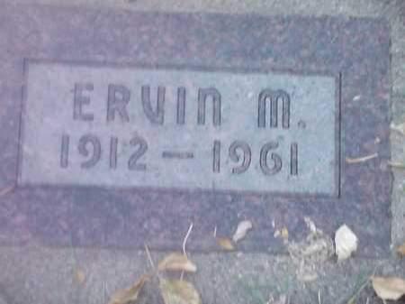 JOHNSON, ERVIN M - Codington County, South Dakota   ERVIN M JOHNSON - South Dakota Gravestone Photos