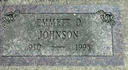 JOHNSON, EMMETT O - Codington County, South Dakota | EMMETT O JOHNSON - South Dakota Gravestone Photos