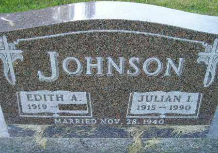 JOHNSON, EDITH ANGELA - Codington County, South Dakota | EDITH ANGELA JOHNSON - South Dakota Gravestone Photos