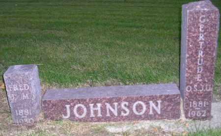 JOHNSON, GERTRUDE O.S.J.U. - Codington County, South Dakota | GERTRUDE O.S.J.U. JOHNSON - South Dakota Gravestone Photos