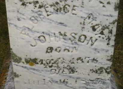 JOHNSON, FLORENCE MAY - Codington County, South Dakota | FLORENCE MAY JOHNSON - South Dakota Gravestone Photos