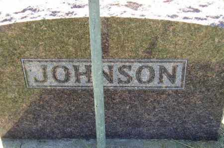 JOHNSON, FAMILY STONE - Codington County, South Dakota   FAMILY STONE JOHNSON - South Dakota Gravestone Photos