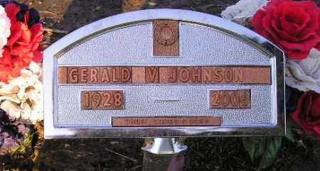 JOHNSON, GERALD V. - Codington County, South Dakota | GERALD V. JOHNSON - South Dakota Gravestone Photos