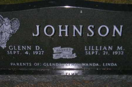 JOHNSON, GLENN D. - Codington County, South Dakota | GLENN D. JOHNSON - South Dakota Gravestone Photos