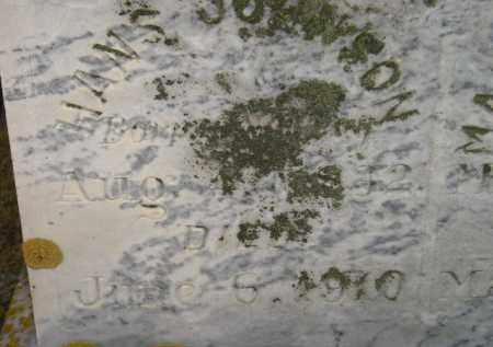 JOHNSON, HANS - Codington County, South Dakota   HANS JOHNSON - South Dakota Gravestone Photos