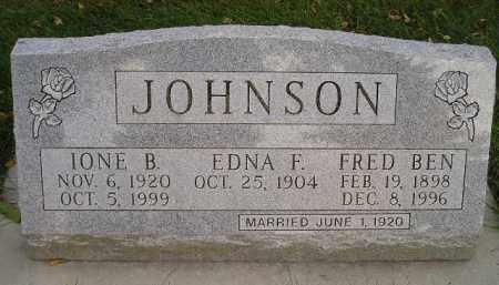 JOHNSON, IONE B. - Codington County, South Dakota | IONE B. JOHNSON - South Dakota Gravestone Photos