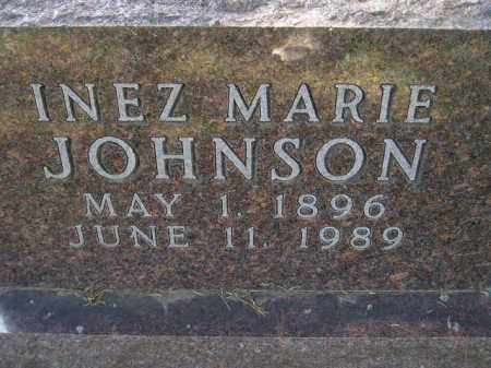 JOHNSON, INEZ MARIE - Codington County, South Dakota   INEZ MARIE JOHNSON - South Dakota Gravestone Photos