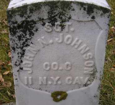 JOHNSON, JOHN N. - Codington County, South Dakota | JOHN N. JOHNSON - South Dakota Gravestone Photos